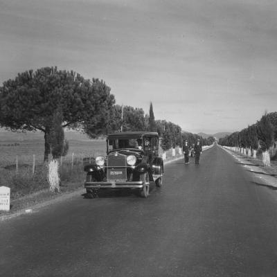Lazio strada statale 1 'Via Aurelia' - località Palo Laziale, Ladispoli (RM) 1932.jpg