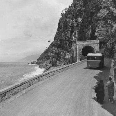 Liguria strada statale 1 'Via Aurelia' tratto Sestri Levante – Genova