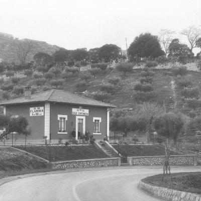 Umbria, strada statale 3 'Via Flaminia', casa cantoniera al km 88,447