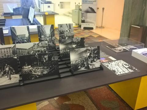 Foto 2 - Milano - Presentazione Mostra Mi ricordo la strada e volume ANSA La strada racconta