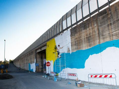 "Foto 3 - Street Art su strada statale 101 ""Salentina di Gallipoli"""