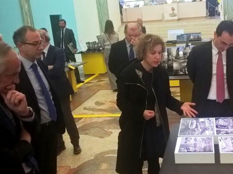 Foto 5 - Milano - Presentazione Mostra Mi ricordo la strada e volume ANSA La strada racconta