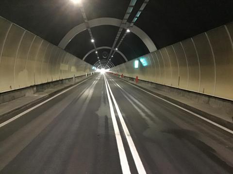 Riaperta al traffico la galleria Poggio in seguito ai lavori di adeguamento impianti