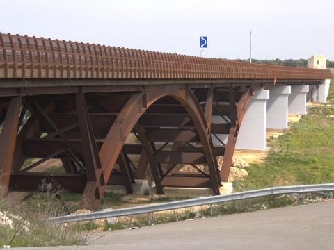"""Strada statale 96 """"Barese"""", viadotto Lame Strette"""