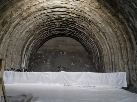 """SS38 """"dello Stelvio"""": abbattimento ultimo diaframma della galleria """"Selva Piana"""" a Morbegno"""