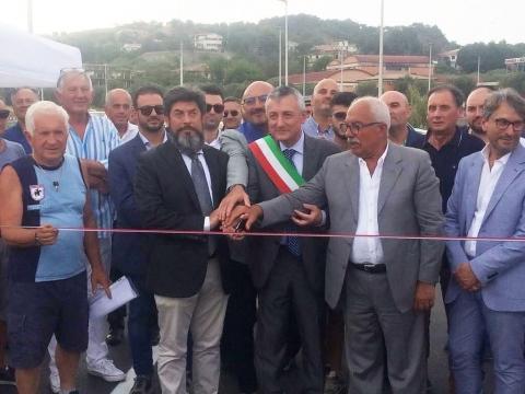 inaugurazione apertura svincolo sulla SS106 Jonica a Cirò Marina