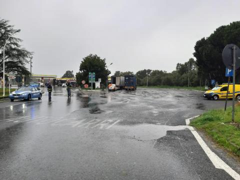 A2 Autostrada del Mediterraneo,  filtraggio mezzi