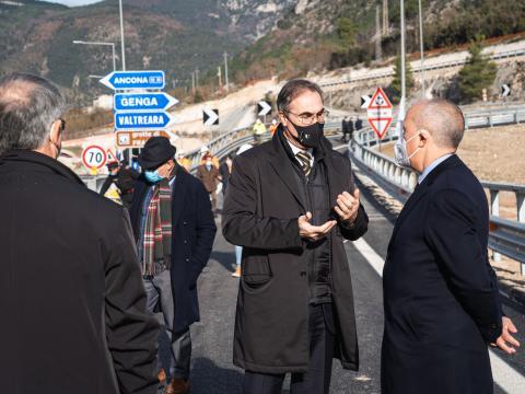 Apertura SS76 (Perugia-Ancona)