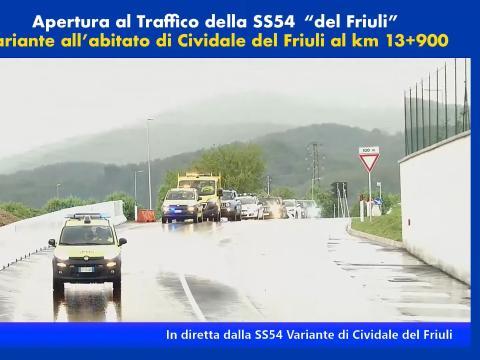 Apertura al traffico variante di Cividale del Friuli