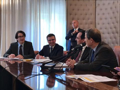 Foto 2 - Sicilia: il Presidente della Regione incontra i vertici di Anas
