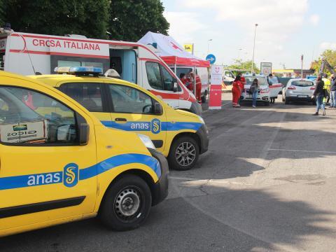 Foto 3: Save The Trucker, Anas e Croce Rossa Italiana insieme per la sicurezza dei viaggiatori