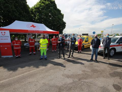 Foto 4: Save The Trucker, Anas e Croce Rossa Italiana insieme per la sicurezza dei viaggiatori