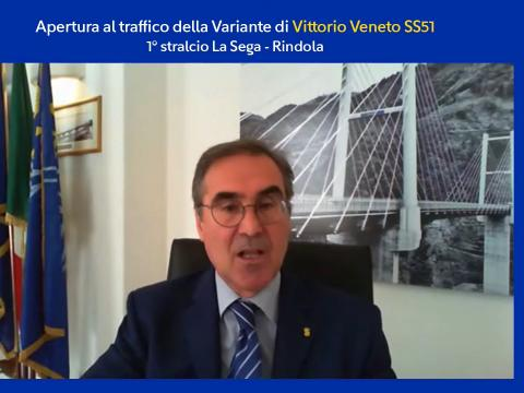 Massimo Simonini - Amministratore delegato Anas