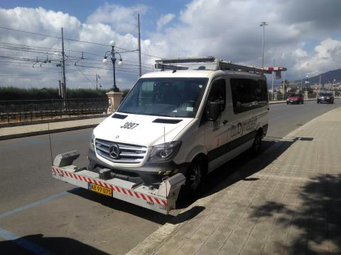 Rilievo e monitoraggio di alcune delle principali caratteristiche funzionali della pavimentazione stradale