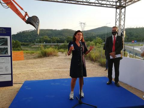 Avvio lavori E78 lotto 4 - Ministra Paola De Micheli