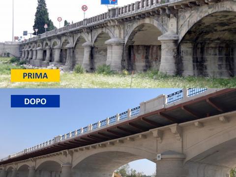 Ponte Priula prima e dopo