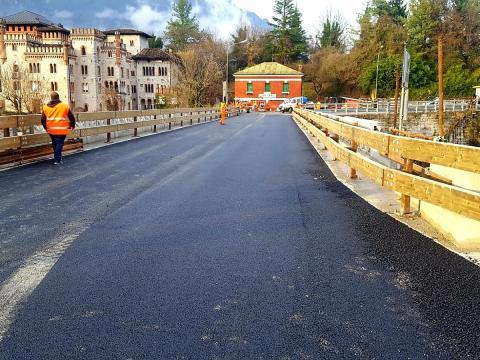 Ponte di Santa Caterina - SS51 di Alemagna