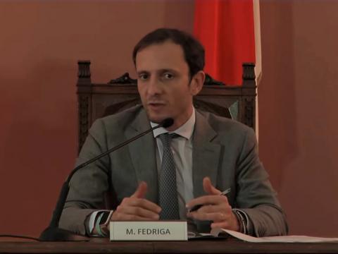 Presidente Regione FVG Massimiliano Fedriga - apertura al traffico variante di Cividale del Friuli