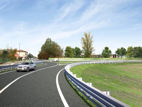 Render Tangenziale Reggio Emilia