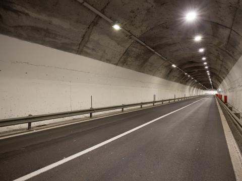 Progetto #greenlight nelle gallerie della SS387