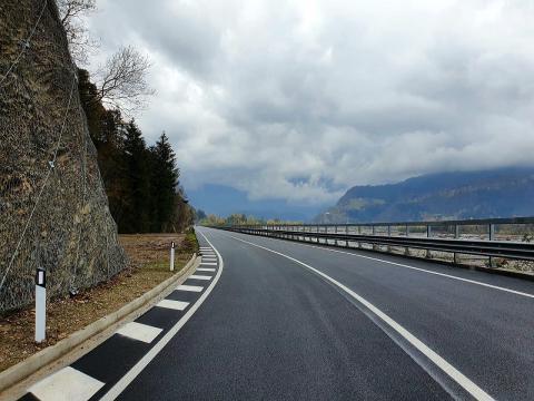 Completata la riqualificazione di un tratto di 400 metri tra Tolmezzo e Imponzo