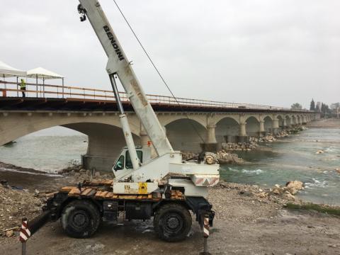 Sopralluogo Ponte della Priula