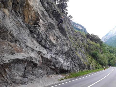 """SS26 """"della Valle d'Aosta"""", a Pré-Saint-Didier"""