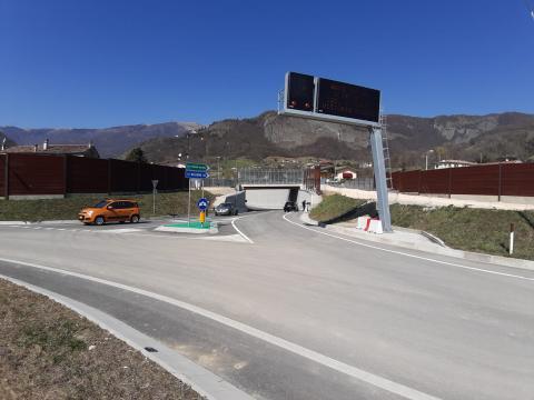 Variante di Vittorio Veneto - apertura al traffico