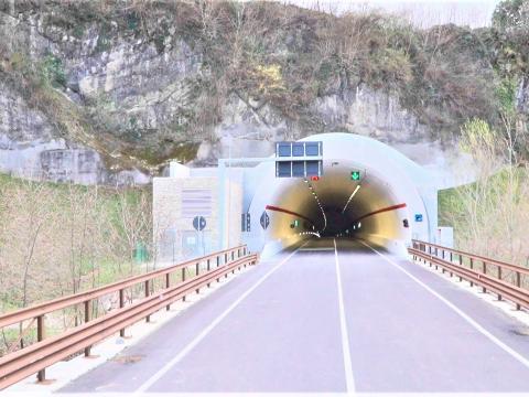 Variante di Vittorio Veneto - ponte Meschio e galleria Sant'Augusta