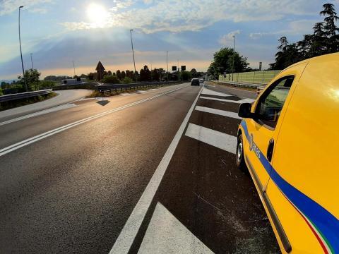 Ripristino asfalti completato (PD)