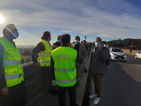 Consegna lavori ponte monumentale Pio IX di Ariccia