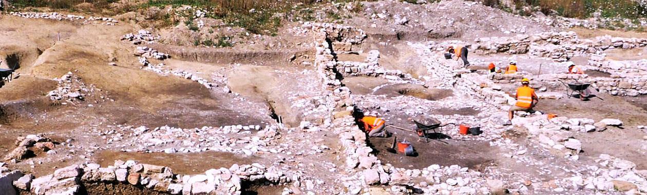 Immagine di uno scavo archeologico