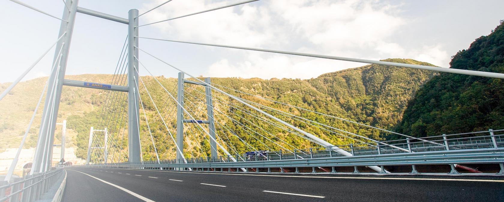 Immagine di un ponte Anas
