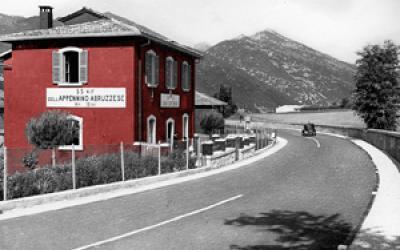 Immagine di una casa cantoniera Anas